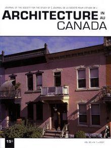 La création d'une petite Arménie ou les multiples usages d'un sous-sol au Québec. Architecture Canada - Vol 32, No.1