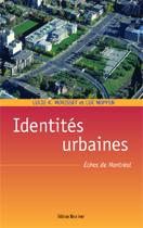 Les identités urbaines