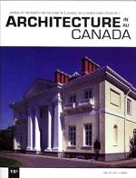 Architecture au Canada, vol 31, numéro 1