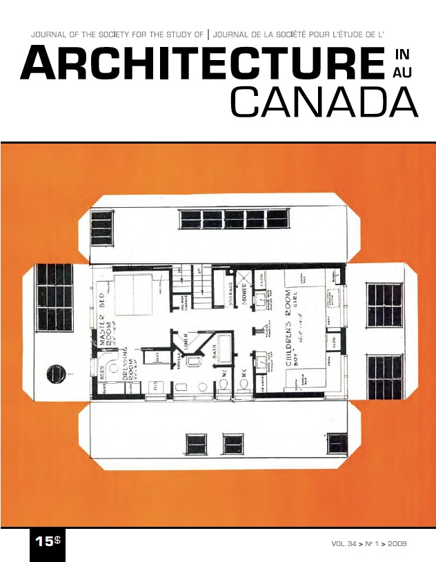 La ville est hockey. Architecture au Canada - Vol. 34, no 1