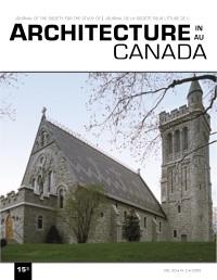 Architecture au Canada Vol. 30 n. 2