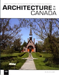 Architecture Canada, vol. 32, no 2