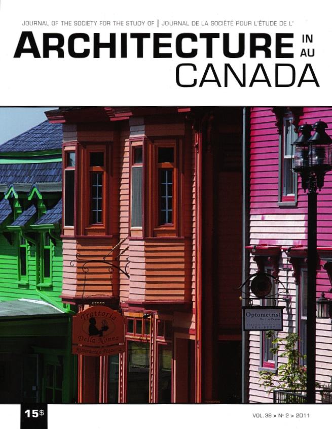 Architecture Canada, vol. 36, nº 2