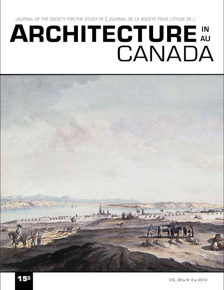 Architecture Canada, vol. 39, nº 2