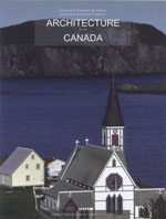 Architecture au Canada vol. 28 no.3-4