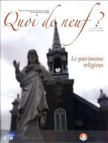 Quoi de neuf ? - Patrimoine religieux