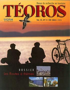 Le tourisme religieux et le patrimoine. Téoros Vol. 22 no. 2