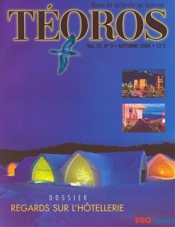Le touriste et l'urbaniste (deuxième partie) Téoros Vol. 23, no. 3